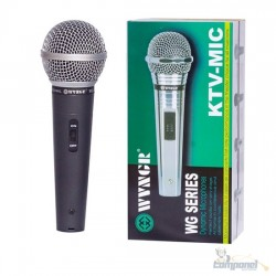 Microfone Profissional Com Cabo M-58 Wvngr